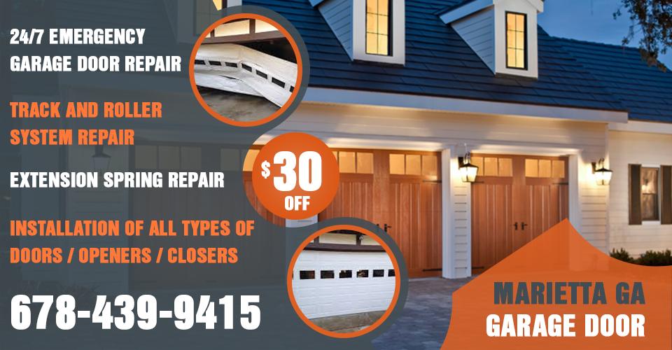 marietta ga residential garage doors